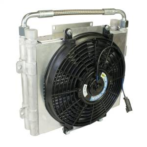 BD Diesel Xtrude Double Stacked Auxiliary Transmission Cooler 1300601-DS