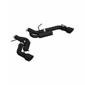 MBRP Exhaust Black Series Axle Back Exhaust System S7034BLK