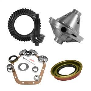 Yukon Gear 10.5in. GM 14 Bolt 5.38 Rear Ring/Pinion; Install Kit; 30 Spline Posi YGK2130