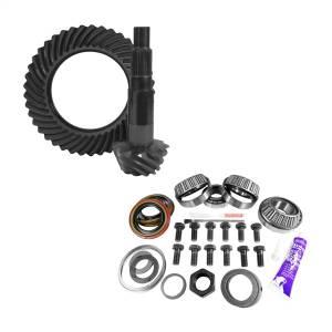 Yukon Gear 11.25in. Dana 80 4.56 Rear Ring/Pinion; Install Kit; 4.375in. OD Head Bearing YGK2176