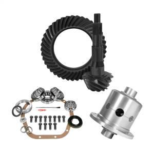 Yukon Gear 10.5in. Ford 4.56 Rear Ring/Pinion; Install Kit; 35 Spline Posi YGK2146