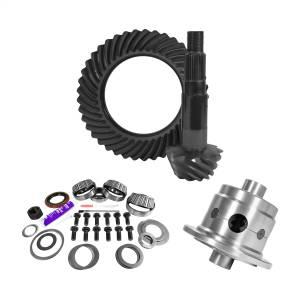 Yukon Gear 11.25in. Dana 80 3.73 Rear Ring/Pinion; Install Kit; 35 Spline Posi; 4.125in. BR YGK2165