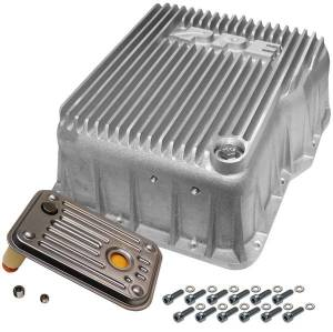 PPE Deep Allison Transmission Pan - 2001-2019 GM 6.6L DURAMAX (EQUIPPED WITH ALLISON 1000 / 2000 / 2400)