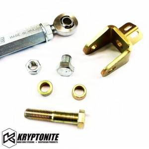 Kryptonite Products - Kryptonite - Race Series Center Link Tie Rod Package GM 01-10 (not for street use) - Image 2