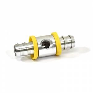 1/2 Push Lock Fuel Pressure Tee