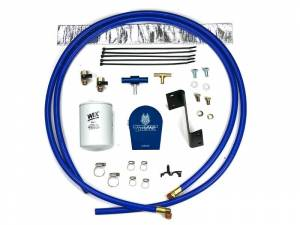 Sinister Diesel Coolant Filtration System (w/ Wix) for 2011-2015 GM Duramax 6.6L SD-COOLFIL-6.6-11-W