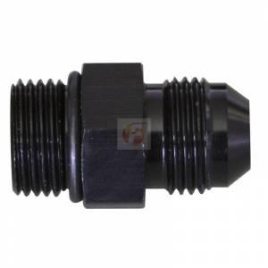 Setrab M22x1.5 O-ring To -10AN Straight Black Fleece Performance