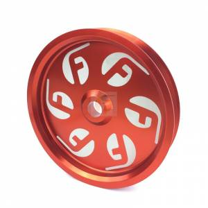 Cummins Dual Pump Pulley For use with FPE Dual Pump Bracket Red Fleece Performance