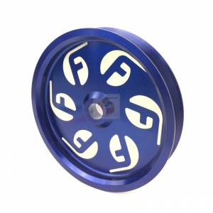 Cummins Dual Pump Pulley For use with FPE Dual Pump Bracket Blue Fleece Performance