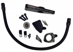 Hoses and Pipes - Engine Coolant Bypass Hose - Fleece Performance - Cummins Coolant Bypass Kit 2007.5-2016 6.7L Fleece Performance
