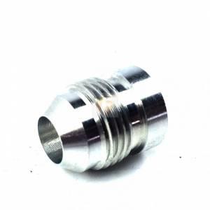 -8AN Aluminum Male Weld Bung 1/2 inch Register 3/4 inch OD Fleece Performance
