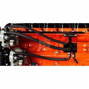 2007.5-2009 6.7L Cummins Fuel Distribution Block Hose and Fitting Kit Fleece Performance