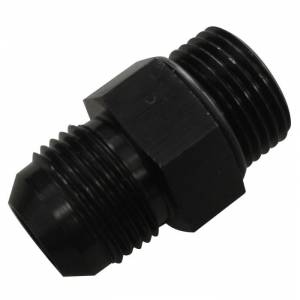 -10 to 7/8 Inch -14 Straight Male Black w/ O-Ring Fleece Performance