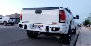 11-14 Silverado 2500/3500 Rear Bumper with Sensors Flog Industries