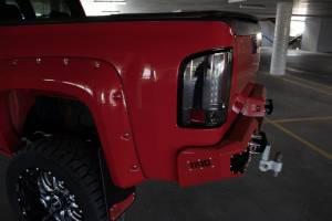 08-10 Silverado 2500/3500 Rear Bumper with Sensors Flog Industries