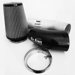 6.7 Cold Air Intake 11-16 Ford Super Duty Power Stroke Black Dry Filter Stage 1 No Limit Fabrication