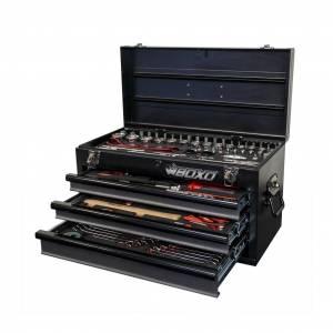 Boxo Usa 97 Piece Motobox Toolbox Black No Limit Fabrication