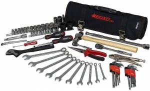 Boxo Usa 66 Pc Universal Tool Roll For Side By Side Vehicles No Limit Fabriaction