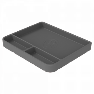 Tool Tray Silicone Medium Color Charcoal S&B