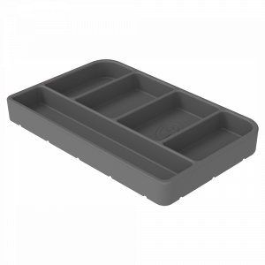 Tool Tray Silicone Small Color Charcoal S&B