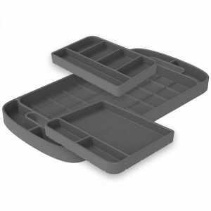 Tool Tray Silicone 3 Piece Set Color Charcoal S&B
