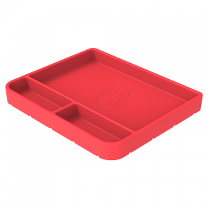 Tool Tray Silicone Medium Color Pink S&B