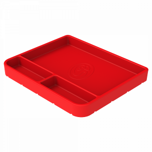 Tool Tray Silicone Medium Color Red S&B