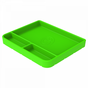 Tool Tray Silicone Medium Color Lime Green S&B
