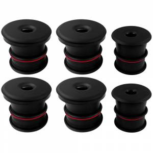 Silicone Body Mount Kit For 03-07 Ford F-250/F-350 Powerstroke 6.0L Reg/Extended Cab 4 Pc S&B