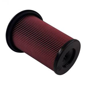 Air Filter For Intake Kit 75-5128 Oiled Cotton Cleanable Red S&B