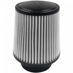 Air Filter For Intake Kits 75-5008 Dry Cotton Cleanable White S&B
