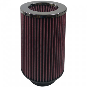 Air Filter For Intake Kits 75-2556-1 Oiled Cotton Cleanable Red S&B