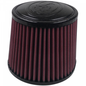 Air Filter For Intake Kits 75-5004 Oiled Cotton Cleanable Red S&B