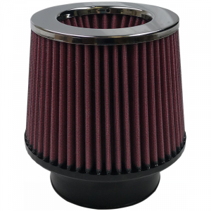 Air Filter For Intake Kits 75-1534,75-1533 Oiled Cotton Cleanable Red S&B