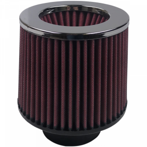 Air Filter For Intake Kits 75-1515-1,75-9015-1 Oiled Cotton Cleanable Red S&B