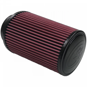 Air Filter For Intake Kits 75-2530 Oiled Cotton Cleanable Red S&B