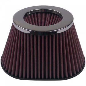 Air Filter For Intake Kits 75-3011 Oiled Cotton Cleanable Red S&B