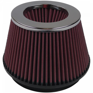 Air Filter For Intake Kits 75-2519-3 Oiled Cotton Cleanable Red S&B