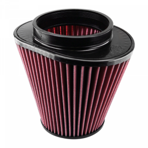 Air Filter for Competitor Intakes AFE XX-90032 Oiled Cotton Cleanable Red S&B