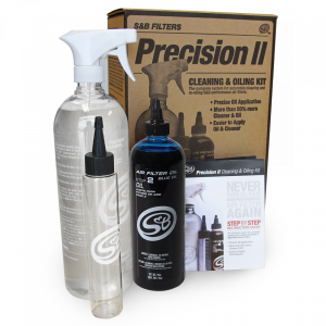 Cleaning Kit For Precision II Cleaning and Oil Kit Blue Oil Oiled S&B