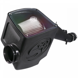 Cold Air Intake For 12-15 Toyota Tacoma 4.0L Dry Dry Extendable White S&B