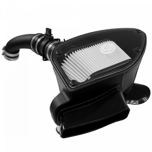Cold Air Intake For 10-14 VW 2.0L TDI , 2015 VW Jetta 2.0L TDI Dry Extendable White S&B
