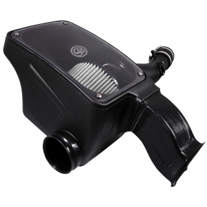 Cold Air Intake For 16-18 Toyota Tacoma 3.5L Dry Dry Extendable White S&B