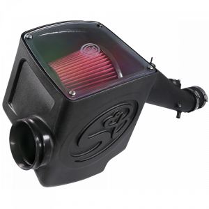 Cold Air Intake For 05-11 Toyota Tacoma 4.0L Oiled Cotton Cleanable Red S&B