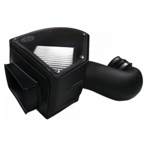 Cold Air Intake For 94-02 Dodge Ram 2500 3500 5.9L Cummins Dry Extendable White S&B