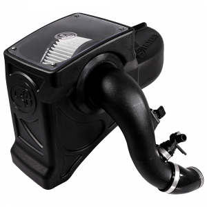 Cold Air Intake For 16-19 Chevrolet Colorado GMC Canyon 2.8L Duramax Dry Dry Extendable White S&B