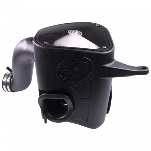 Cold Air Intake For 13-18 Dodge Ram 2500 3500 L6-6.7L Cummins Dry Extendable White S&B