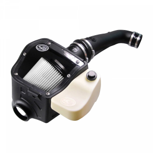 Cold Air Intake For 09-10 Ford F150 V8-5.4L Dry Dry Extendable White S&B