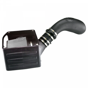 Cold Air Intake For 07-08 GMC Yukon Dry Extendable White S&B