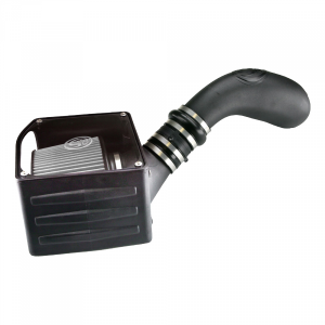 Cold Air Intake For 99-06 GMC Sierra 4.8L, 5.3L, 6.0L Dry Dry Extendable White S&B